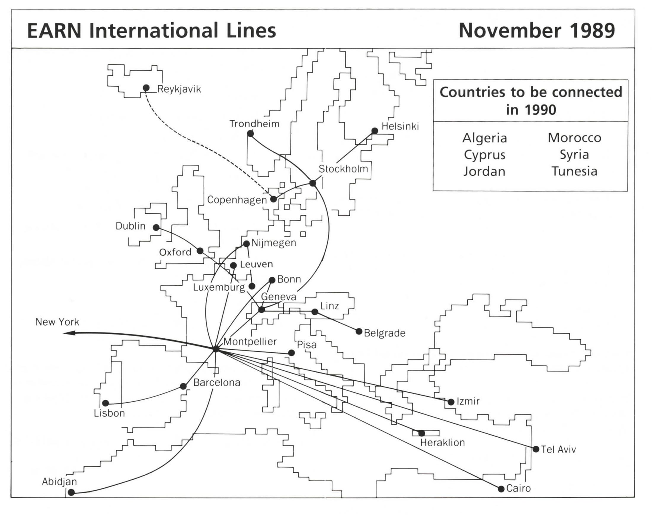 EARN MAP 1989
