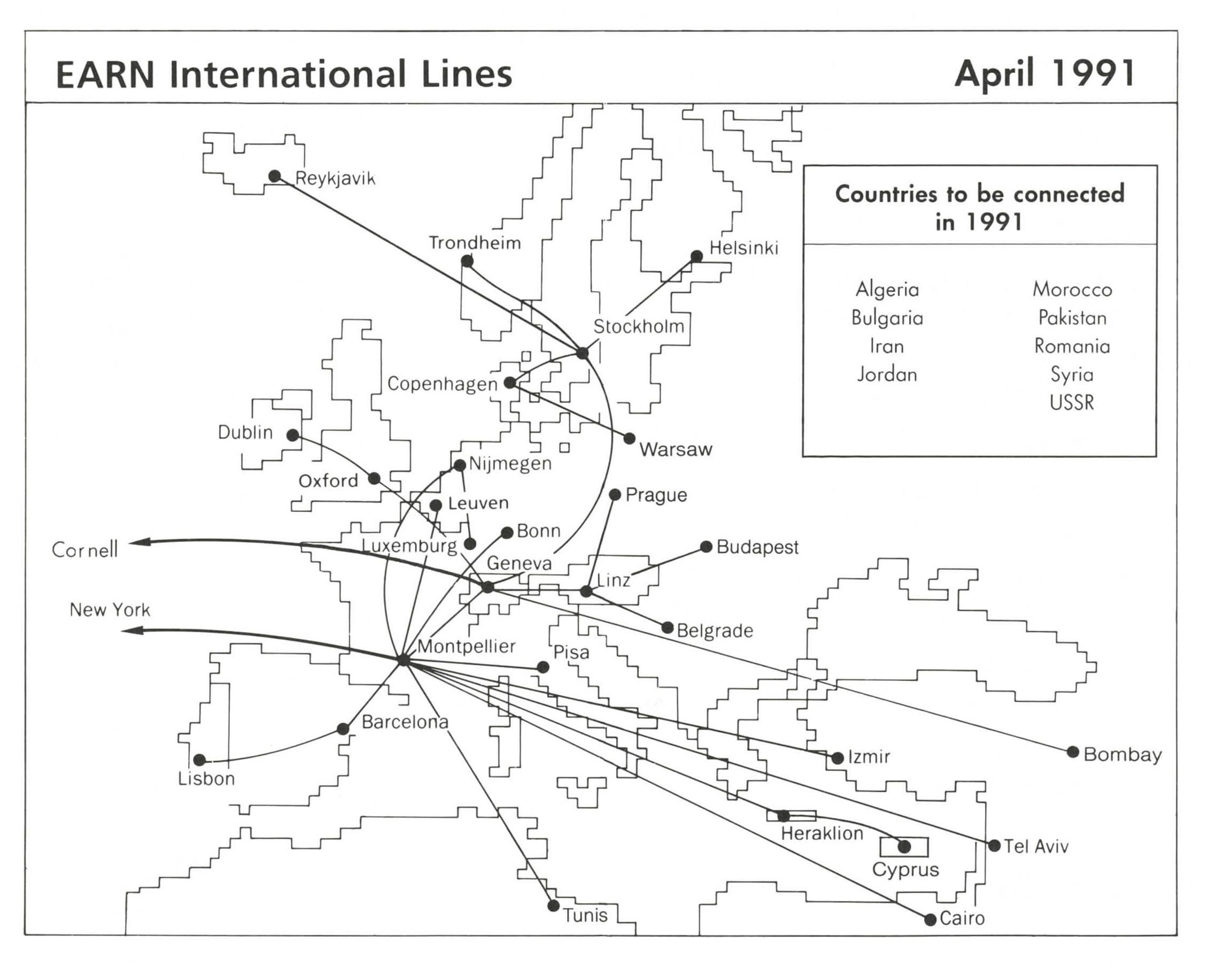 EARN MAP 1991