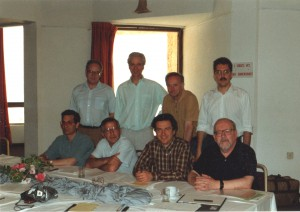 1993 - The EARN Executive Board with the General Manager of the EARN Office and the Technical Manager
