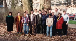 The participants to the 1994 EARN Network Workshop for new Member Countries with the EARN Office Staff