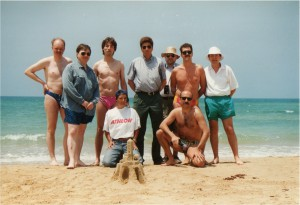 1995 Some members of the EARN Technical groups and EARN Office Staff